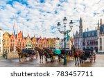 Grote Markt Square In Medieval...