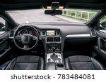 modern luxury prestige car... | Shutterstock . vector #783484081