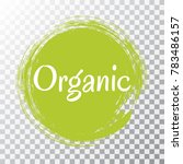 organic products icon  food... | Shutterstock .eps vector #783486157