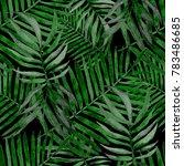 watercolor seamless pattern... | Shutterstock . vector #783486685