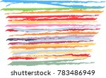 abstract color background... | Shutterstock .eps vector #783486949
