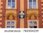 building in old town prague... | Shutterstock . vector #783504259