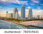 south beach  miami  florida ... | Shutterstock . vector #783519631