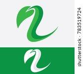 leaf green logo | Shutterstock .eps vector #783519724