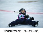 A Five Year Old Girl In Hockey...