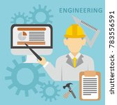 engineering illustration vector | Shutterstock .eps vector #783556591