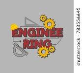 engineering illustration vector | Shutterstock .eps vector #783556645