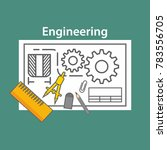 engineering illustration vector