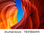 Antelope Canyon In The Navajo...