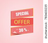 special offer upto 30  off | Shutterstock .eps vector #783603235