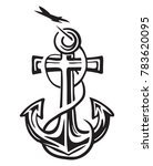 success anchor dreams | Shutterstock .eps vector #783620095