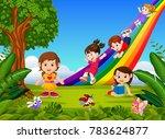 vector illustration of cartoon...   Shutterstock .eps vector #783624877