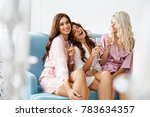girls party. beautiful women... | Shutterstock . vector #783634357