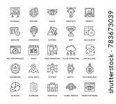 web design flat line icons 1 | Shutterstock .eps vector #783673039
