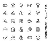 business doodle icons 2 | Shutterstock .eps vector #783674545