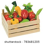 healthy vegetables  diet | Shutterstock . vector #783681205