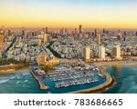 aerial  sun set view of... | Shutterstock . vector #783686665