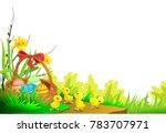 an easter card | Shutterstock .eps vector #783707971