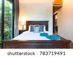 luxury interior design in... | Shutterstock . vector #783719491