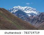 aconcagua national park ... | Shutterstock . vector #783719719