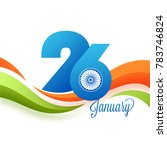 paper text 26 january on... | Shutterstock .eps vector #783746824