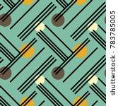 irregular lines and circles...   Shutterstock .eps vector #783785005
