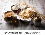 indian chapati   fulka or gehu... | Shutterstock . vector #783790444