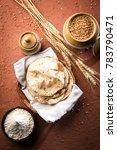 indian chapati   fulka or gehu... | Shutterstock . vector #783790471