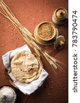 indian chapati   fulka or gehu... | Shutterstock . vector #783790474