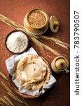 indian chapati   fulka or gehu... | Shutterstock . vector #783790507