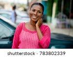 portrait of happy mature woman...   Shutterstock . vector #783802339