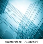 transparent glass wall of... | Shutterstock . vector #78380584