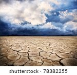 Drought Earth And Storm...