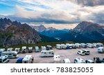italy  park tre cime  july 8 ... | Shutterstock . vector #783825055