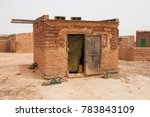 typical house in the slums of... | Shutterstock . vector #783843109
