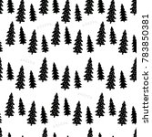 christmas seamless pattern.  | Shutterstock .eps vector #783850381