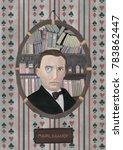 Stylized Portrait Of Mikhail...