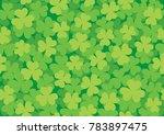 simple green seamless pattern...   Shutterstock .eps vector #783897475