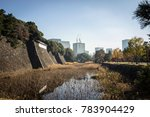 imperial palace  tokyo japan  ... | Shutterstock . vector #783904429