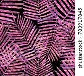 watercolor seamless pattern... | Shutterstock . vector #783917845