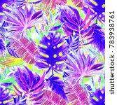 watercolor seamless pattern... | Shutterstock . vector #783938761