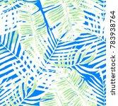 watercolor seamless pattern... | Shutterstock . vector #783938764