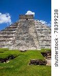 ancient mayan pyramid  kukulcan ...   Shutterstock . vector #78399238