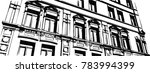 old city  architecture building ... | Shutterstock .eps vector #783994399