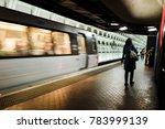 Washington D.c.   The Metro...