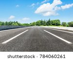 country asphalt road and green... | Shutterstock . vector #784060261