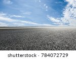 country asphalt road and blue... | Shutterstock . vector #784072729