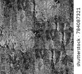 texture black and white grunge. ... | Shutterstock . vector #784087321