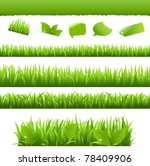 collection eco design elements  ... | Shutterstock . vector #78409906