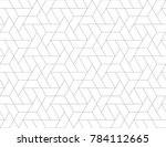 geometric grid with intricate... | Shutterstock .eps vector #784112665